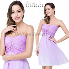Short Homecoming Cocktail Party dress Country Bridesmaid Dresses Fit for Beach