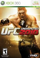 UFC Undisputed 2010 Xbox 360 No Manual Tested