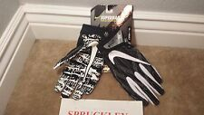 NIKE SUPERBAD 4 ADULT PADDED FOOTBALL RECEIVER  GLOVES, GF0627 , NWT