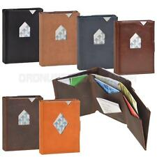 EXENTRI Wallet Card Holder Leather Mini Wallet Small in Size full of Features