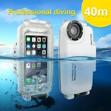 Hot Waterproof Underwater Diving Housing Photo Case for iPhone6 6S 7 Plus 40m