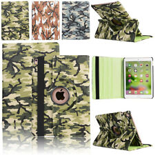360 Rotating PU Leather Folio Swivel Case Smart Cover Stand For Apple iPad 2 3 4