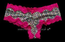 BNWT Victoria's Secret S Very Sexy cheeky panties/pants/knickers lace pink silky