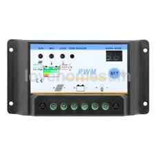10A-30A PWM Solar Panel Battery Regulator Charge Controller Auto Settable 12/24V