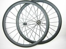 25mm width 38/50/60/88mm clincher 700c carbon fiber road bicycle wheels tubeless