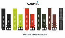 Garmin Fenix 5X QuickFit Watch Band 26mm Replacement Adjustable Strap Silicone