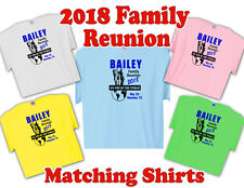 "2018 FAMILY REUNION T-Shirts  ""Custom design"" Fast, Free Shipping"