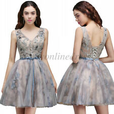 New Short Lace Homecoming Cocktail Party Formal Prom Dresses for Graduation