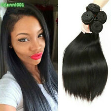 4pcs/200g Virgin Hair Straight 100% Human Hair Weaving Brazillian Straight Hair