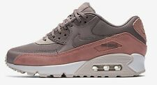 Nike AIR MAX-90 WOMEN'S SHOE Red Stardust/White/Taupe Grey- Size US 9, 9.5 Or 10