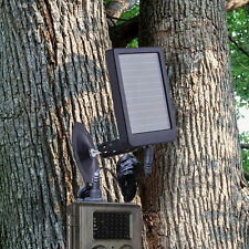 HC-500 HC-300 Solar Panel Battery Charger Hunting Trail Camera Deer Game Feeder