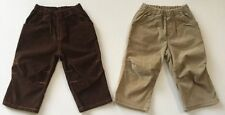 Boys Clothes City Threads Corduroy Pull Up Pants Size 12-18mths