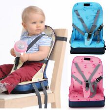 Portable Baby Toddler Infant Dining Chair Booster Seat Travel Harness Safety
