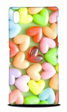 CUTE CANDY HEARTS JELLY HARD CASE COVER FOR SONY XPERIA Z2