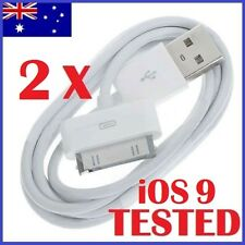1-10 Pack 1M USB Data Cable Sync Charger for iPhone 4 4S 3GS 3 iPod Touch iPad