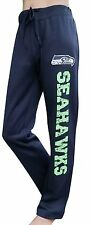 Women's Seattle Seahawks  Sweat Pants Sporty Pants Casual Trousers