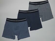Jockey No-Fly Stretch Boxer Brief 3 Pack (Grey/Blue/Dark blue) Reg  $29.50