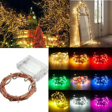 20/30/100 LED BATTER POWERED FAIRY STRING LIGHTS PARTY XMAS WEDDING CHRISTMAS