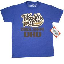 Inktastic Chinese Shar-pei Dad (Worlds Best) Dog Breed T-Shirt Shar-pei Dogs By