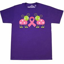 Inktastic Pink Awareness Ribbon Ladybug T-Shirt Breast Cancer Support Cute Month