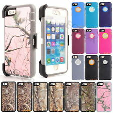 Military Heavy Duty Hybrid Shockproof Rugged Combo Case Skin For iPhone 6 7 Plus