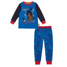 Boys'  Blue 'The Gruffalo' Long-Sleeved Pyjama Set From Debenhams