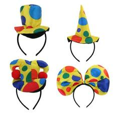 Clown Hat Headband Party Fancy Dress Costume Cosplay Adult Circus Party Supplies
