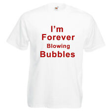 West Ham Tee Shirt -  I'm Forever Blowing Bubbles
