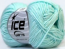 """8 x 50g Ice Yarns """"Baby Cotton"""" 8-Ply Yarn 100% Egyptian Cotton (Choose Colour)"""
