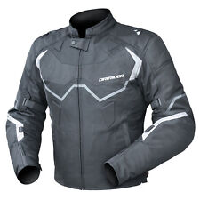 Dririder Climate Control Pro 4 Motorcycle S/Sport Mens Jacket Black/White XS-6XL
