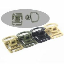 10pcs Tactical Military Backpack Bag Molle Webbing D-ring Clips Locking Buckle