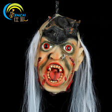 Cut Off Head Halloween Prop Scary Bloody Gothic Vampire Haunted House Decoration
