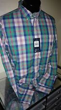 Men's Chaps Casual/Dress LSleeve Plaid NWT Must See!