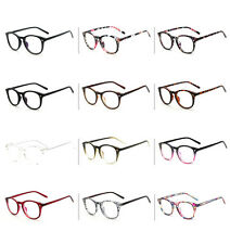 Vintage Retro Fashion Men Women Glasses Round Anti Radiation Clear Lens Eyewear