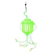 Explosion Fishing Hooks Cage Hook Fishing Feeders Fishing Hooks Green