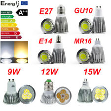 GU10 MR16 E14 E27 Cree 9W 12W 15W Downlight Bulb LED Globe Lamp Spotlight 220V