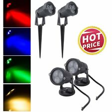 9W Landscape LED Lawn Path Flood Spot Light Lamp Garden Outdoor lighting 2PCS UK