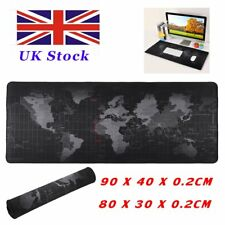 90cm 80cm Non-Slip World Map Game Mouse Pad Mat For PC Laptop Computer Keyboard