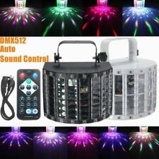 DMX512 LED RGBWY Sound Active Laser Projector Strobe Stage Light DJ Party KTV EW