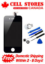 LCD Touch Screen Digitizer Display Assembly Replacement for iPhone 4S +Tools Set