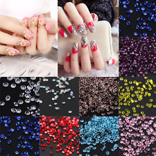 3D Nail Art Crystal Pixie Rhinestone 1.2mm Mini Strass Micro Crystal SS2