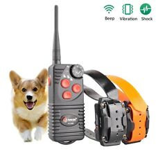 Aetertek 216D Waterproof Remote Rechargeable Classic Dog Shock Training Collar