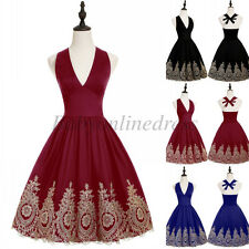 Vintage Short Cocktail Homecoming Dress Party Prom Gowns Sexy Evening Dresses