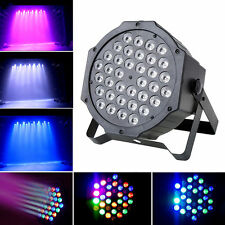 80W RGB 36x LED Par Can Stage Light DMX DJ Disco Bar Party Wash Effect Lighting