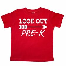 Inktastic Look Out, Pre-K Toddler T-Shirt School Back To Pre-k Preschool Student