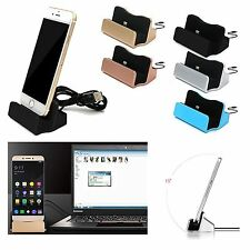 Portable Charging Dock Station Stand Holder Charger For iPhone 7 Plus 7 6 6S 5S