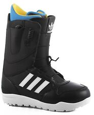 Brand New 2017 Mens Adidas ZX 500 Dual Zone Snowboard Boots Black White