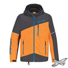 NEW 2018 Ski-Doo Men's Orange MCode Jacket - #440764__12