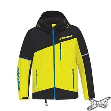 NEW 2018 Ski-Doo Men's Sunburst Yellow MCode Jacket - #440764__96