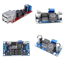 LED Voltmeter/Double USB LM2596 Step-down Power Supply Converter Module DC-DC TO